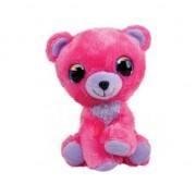 LUMO Ursul de pluș jucărie rasberry mare