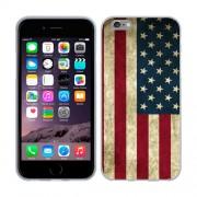 Husa iPhone 6 iPhone 6S Silicon Gel Tpu Model USA Flag