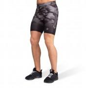 Gorilla Wear Franklin Shorts - Zwart/Grijs Camo - M