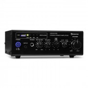 Amp3 USB Mini-Stereo-Verstärker Mikrofon- und Kopfhörer-Anschluss schwarz