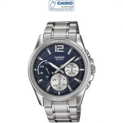 Casio Quartz Blue Round Men Watch MTP-E305D-2AVDF(A992)