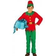 Fancy Me Boys Girls Kids Santa Elf Xmas Christmas Fancy Dress Costume Outfit 3-12 Years (5-6 Years) Green