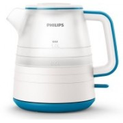 Philips HD9344/14 Electric Kettle(1 L, white & Caribbean blue)