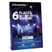 Wonderbox Coffret cadeau 6 Places de concerts Découverte - Cultur'In The City - Wonderbox