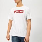 Levi's Men's Oversized Lazy Graphic T-Shirt - White - XXL