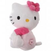 Jemini hello kitty knuffel magneet meisjes roze 12cm