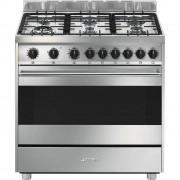 SMEG B9GVXI9 Cucina a Gas Master 90x60cm Inox A