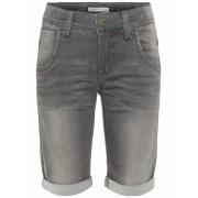 Name It! Jongens Bermuda - Maat 98 - Grijs - Jeans