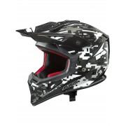 AXO Jump Black/White Casca Motocross Marime XL 59-60 cm