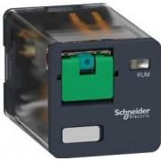 Releu Cilindric,120Vdc,10A,2C/O RUMC21FD - Schneider Electric