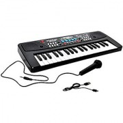 Akshata piano (37 Keys) with DC output mobile charging(USB included)and microphone