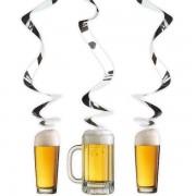 Hangdecoratie bier feest