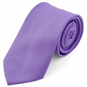 TND Basics Helllila Basic Krawatte 8 cm
