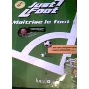 Just Foot - Un Terrain Magnetique - 1 Manuel D Apprentissage - 3 Magnets Des Joueurs De Ligue 1