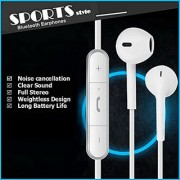 Bluetooth Earbuds Headphones with Mic From BT Waves - Best Noise Cancelling Sport Style in Ear Wireless Stereo Headset Enjoy Clear Sound on the Move