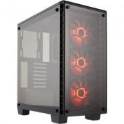 Кутия Corsair Crystal Series 460X RGB Compact ATX Mid-Tower Case