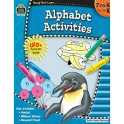 Ready-Set-Learn: Alphabet Activities Prek-K 'With 180+ Stickers', Paperback/Teacher Created Resources