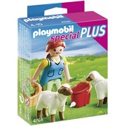PLAYMOBIL Country with Woman Sheep Feed