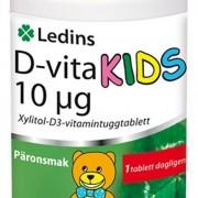 Ledins D-vita Kids 10 µg 90 tabletter