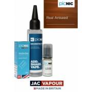 Pachet 60ml Lichid Tigara Electronica Premium Jac Vapour Real Aniseed, Nicotina 3mg/ml, 80%VG 20%PG, Fabricat in UK, DiY
