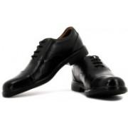 Clarks Gabson Cap Lace Up Shoes For Men(Black)