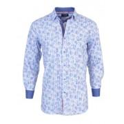 Spazio Blues Long Sleeved Shirt Blue 13-3807