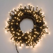 e-Led Light Catena 1.000 luci LED Reflex Bianco Caldo per interno/esterno con controller memory - in bobina