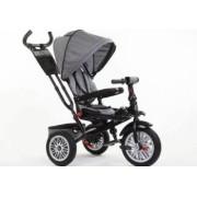 Tricicleta cu scaun reversibil Still 6-36 luni cu pozitie de somn Gri