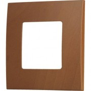 HBF rámeček 1x tmavý buk CLARYS (230097)