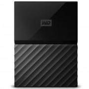 Disco 2.5 Ext USB 3.0 3TB WD My Passport Black LUMEN