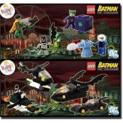 LEGO Batman Minifigures Set Of 8 Exclusive Video Game Character Mcdonalds Toys 2008