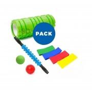 Foam Roller Set Mini Bandas Balon Erizo Mod 01491