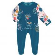 Petit Béguin Pyjama bébé velours Lamapampa - Taille - 24 mois