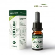 Medihemp CBD Olie Raw 10% CBD, 10 ml.