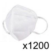 1200 Demi-Masques KN95 / Norme GB2626