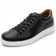Tenis Flexi casuales para caballero - 401201 negro