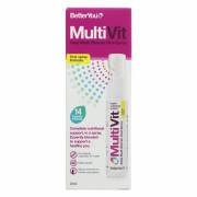 Spray oral MultiVit, Better You, cu Multivitamine, 25 ml, 160 de utilizari, uz intern