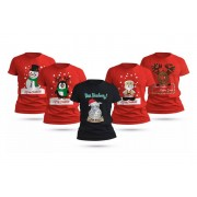 Love My Fashions Limited £5.99 for a ladies' festive t-shirt in UK sizes 8-16 from Love My Fashions!