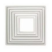 6 Piece Square Cutter Set