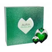 Thierry Mugler Aura 50Ml Edp Refillable 50 Ml + Edp 5 Ml Refillable Per Donna(Eau De Parfum)