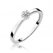 Biżuteria SAXO 14K Pierścionek z brylantami 0,04ct W-100 Białe Złoto GRATIS WYSYŁKA DHL GRATIS ZWROT DO 365 DNI!! 100% ORYGINAŁY!!
