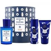 Blu Mediterraneo - Arancia di Capri Acqua di Parma CONFEZIONE REGALO profumo 75 ml EDT SPRAY + lozione corpo 50 ml + gel doccia 40 ml