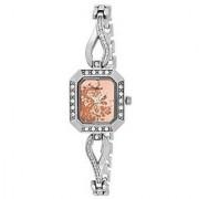 Timex Analog Pink Square Watch -TW000X605