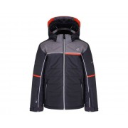 Kids' Initiator Ski Jacket Ebony Aluminium Grey