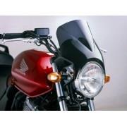Windy - Universal Motorcycle Screen for Naked Bikes: Smoke M1482F