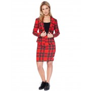 Fato Mrs. Escocesa mulher Opposuits - Taille: XL (EU 46)