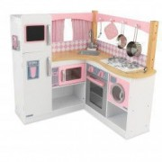 Bucatarie pentru copii Grand Gourmet Corner - KidKraft
