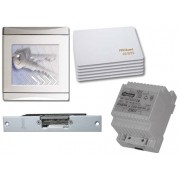 Golmar 4502SE* 600 felhasználós kártyaolvasó szett moduláris olvasó tápegység mágneszár 6 db kártya.