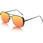 CD EYEWEAR Rectangular Sunglasses(Orange)