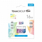 Micro SD Card, 16GB, Team Group Color Card II, 1xAdapter, Class 10 (TCIIUSDH16GU349)